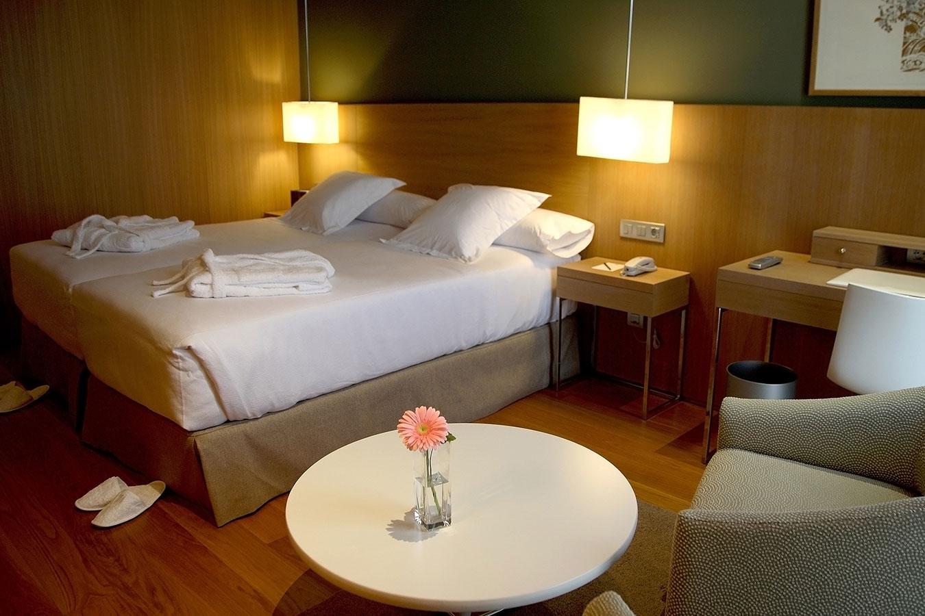 Hotel Las Margas. Mónica del Campo